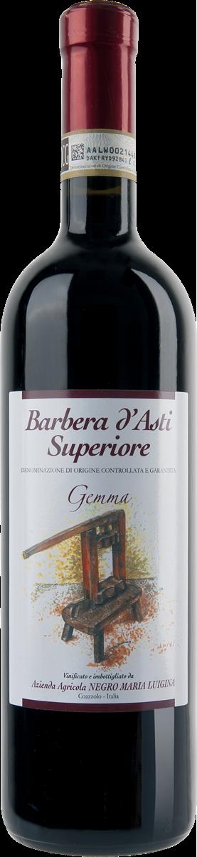 """Barbera d'Asti Superiore D.O.C.G. """"Gemma""""."""