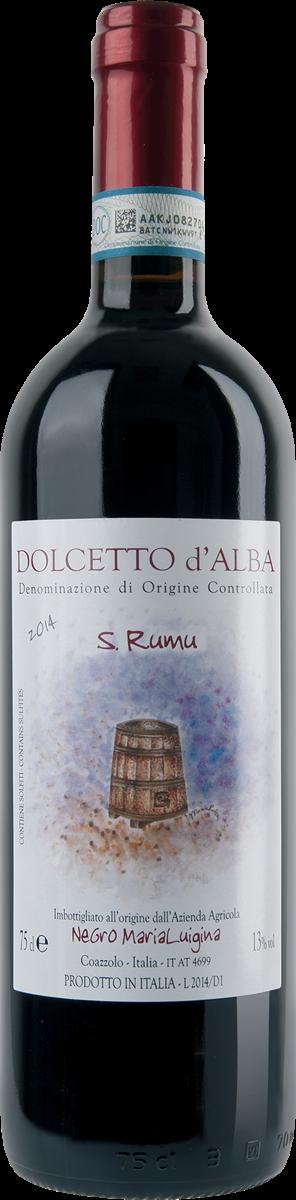 "Dolcetto d'Alba D.O.C. ""San Rumu""."