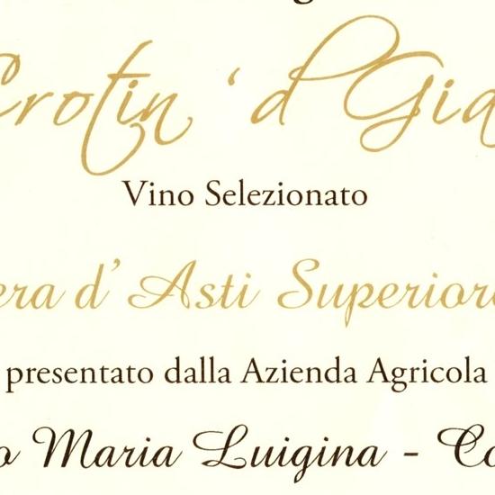 Il Crotin 'd Gianduja 2017 - Barbera d'Asti Superiore 2015.