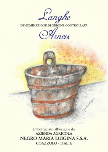 Etichetta Langhe Arneis D.O.C.